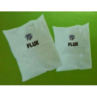 Flux - gồm có 3 loại: 1. Flux-SD là bột tách xỉ; 2. Flux-T là bột làm cứng nhôm; 3. Flux ZN5 chuyên dùng cho đồng